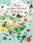 Mein großer Sticker-Weltatlas von Sam Baer (2014, Taschenbuch)