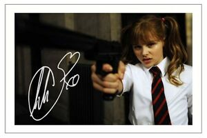 CHLOE-GRACE-MORETZ-SIGNED-PHOTO-PRINT-AUTOGRAPH-KICK-ASS