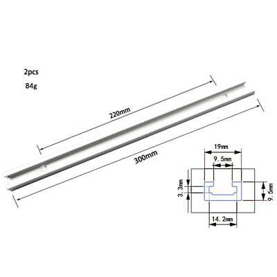 Dauerhaft T-Nut Schiene Miter Track Slider Holzbearbeitung Zubehör 500-600mm