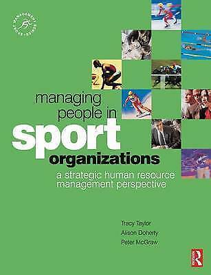 Managing People in Sport Organizations: a strategic human resource management p