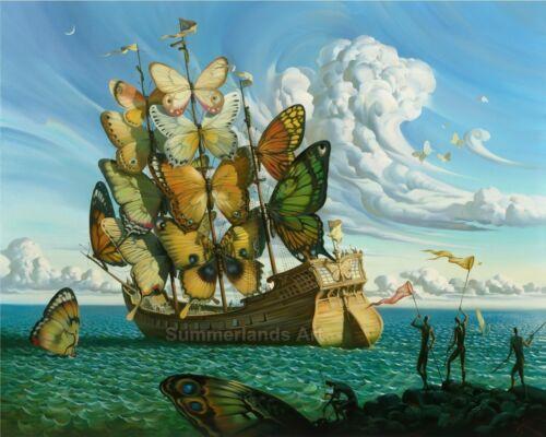 Salvador Dali - FINE ART PRINT Art Paper Canvas High Quality Art