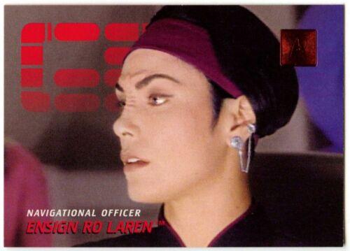 Ensign Ro Laren #170 30 Years Of Star Trek Phase 2 Skybox 1996 TradeCard C1035