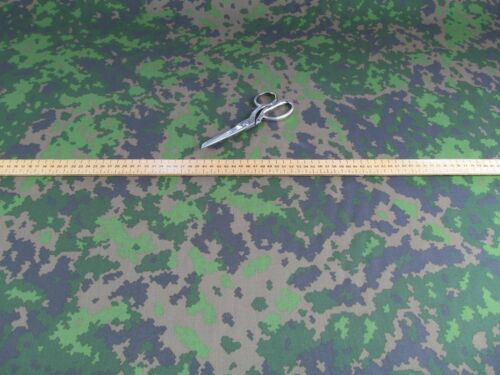 Finland Finnish Army M05 Woodland Pattern Camouflage Cotton Drill Fabric FAP2