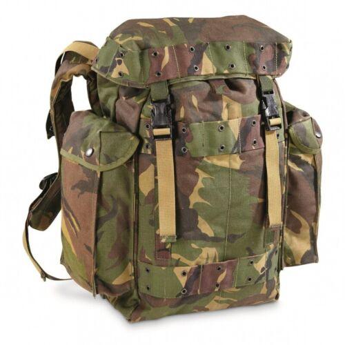 Genuine Dutch Army Daypack 35ltr Woodland NEW