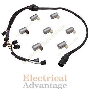 Details about Transmission Solenoid Kit Set W/ Harness 096 01M O1M VW Audi  Shift Volkswagen