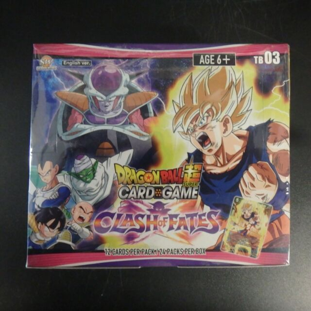Dragon Ball Super CCG Set Clash of Fates ALL Leaders