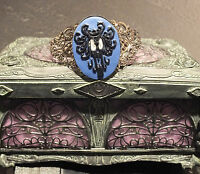 Victorian Cameo Cuff Bracelet Haunted Mansion Creepy Wallpaper Glow In The Dark