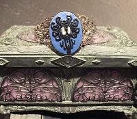 Victorian Cameo Cuff Bracelet Haunted Mansion Creepy Wallpaper Glow In The Dark