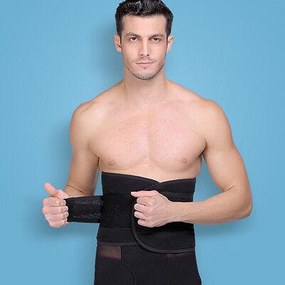 Men Bandage Slim Body Shaper Tummy Belly Waist Cincher Shapewear Mesh Girdle