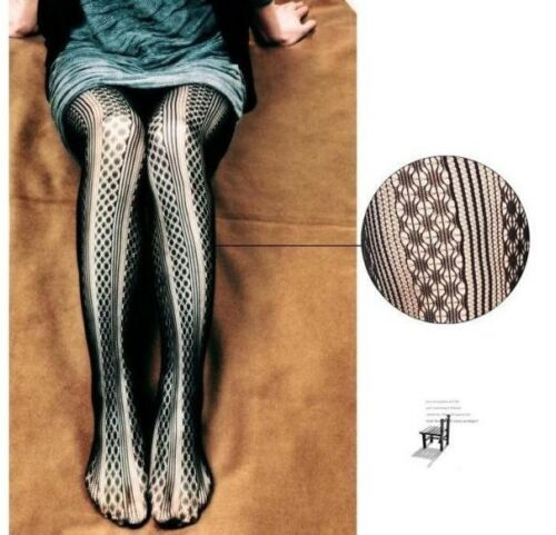 Women Fashion Jacquard Fishnet Pantyhose Flower Hot Net Tights Stocking Europe