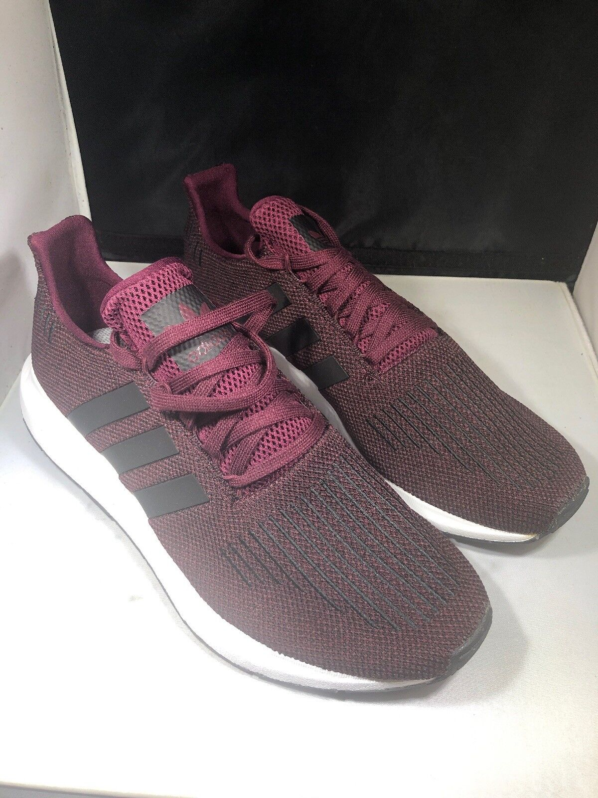 4ebeed42ab924 ADIDAS swift Maroon Tennis shoes Size 12 cq2118 (j50) Run Mens ...
