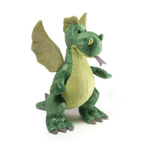 "9.5/"" Gund Ember Green Dragon"