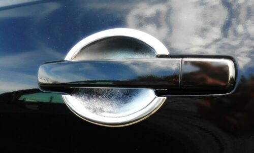 Accesorios Nissan Qashqai 2007-2009 tuning cromo pocillos cáscaras para puertas