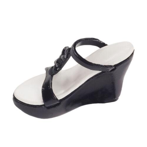 High-End 1 Paar 1//6 Scale Platform Sandalen Schuhe Ersatzzubehör für 12 Zoll
