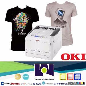 629dcc63 Image is loading Okidata-PRO8432WT-White-Toner-Transfer-Printer-11-x17-