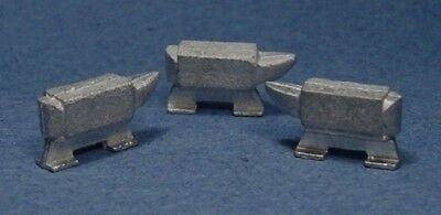 O/On3/On30 1/48 WISEMAN MODEL SERVICES DETAIL PARTS #O102 LARGE ANVILS