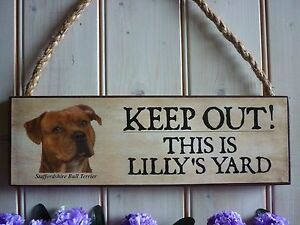 STAFFORDSHIRE-BULL-TERRIER-SIGN-STAFFY-GIFT-FUNNY-WOODEN-SIGN-DOG-SIGN-YARD-SIGN