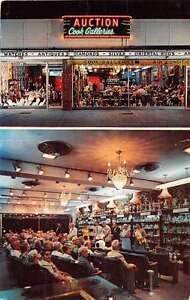 Daytona Beach Florida Cook Galleries Antique Auction House Postcard J51986 Ebay