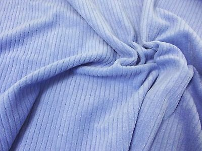 BLUE NEW SKY QUALITY Anti Pil Polar Fleece Fabric Material