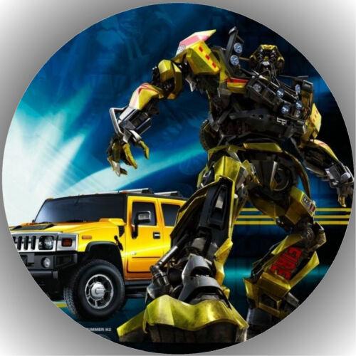 Oblate Transformers  P1 Tortenaufleger Geburtstag Party Tortenbild Fondant