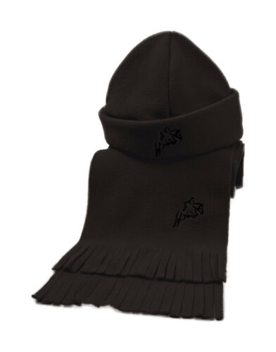 Choice Of Colour One Size Horse Equestrian Hy Matching Fleece Hat /& Scarf Set