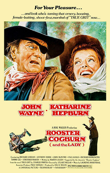 Rooster Cogburn - 1975 - Movie Poster