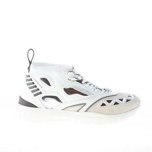 eed031470e589 Image is loading VALENTINO-men-shoes-Heroes-Reflex-sneaker-white-fabric-