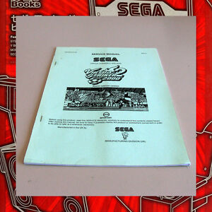 SERVICE-MANUAL-SEGA-034-VIRTUA-STRIKER-2-VERSION-2000-034-Arcade-Videogame-non-Jamma