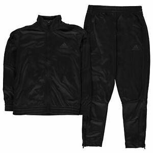 Details zu adidas Jungen Tiro Poly Kinder Trainingsanzug Jogginghose Trainingsjacke Sport