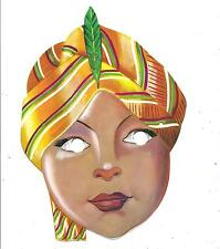 Maschera di CARNEVALE  (  B 03 )  anni '60  -  PRINCIPE INDIANO