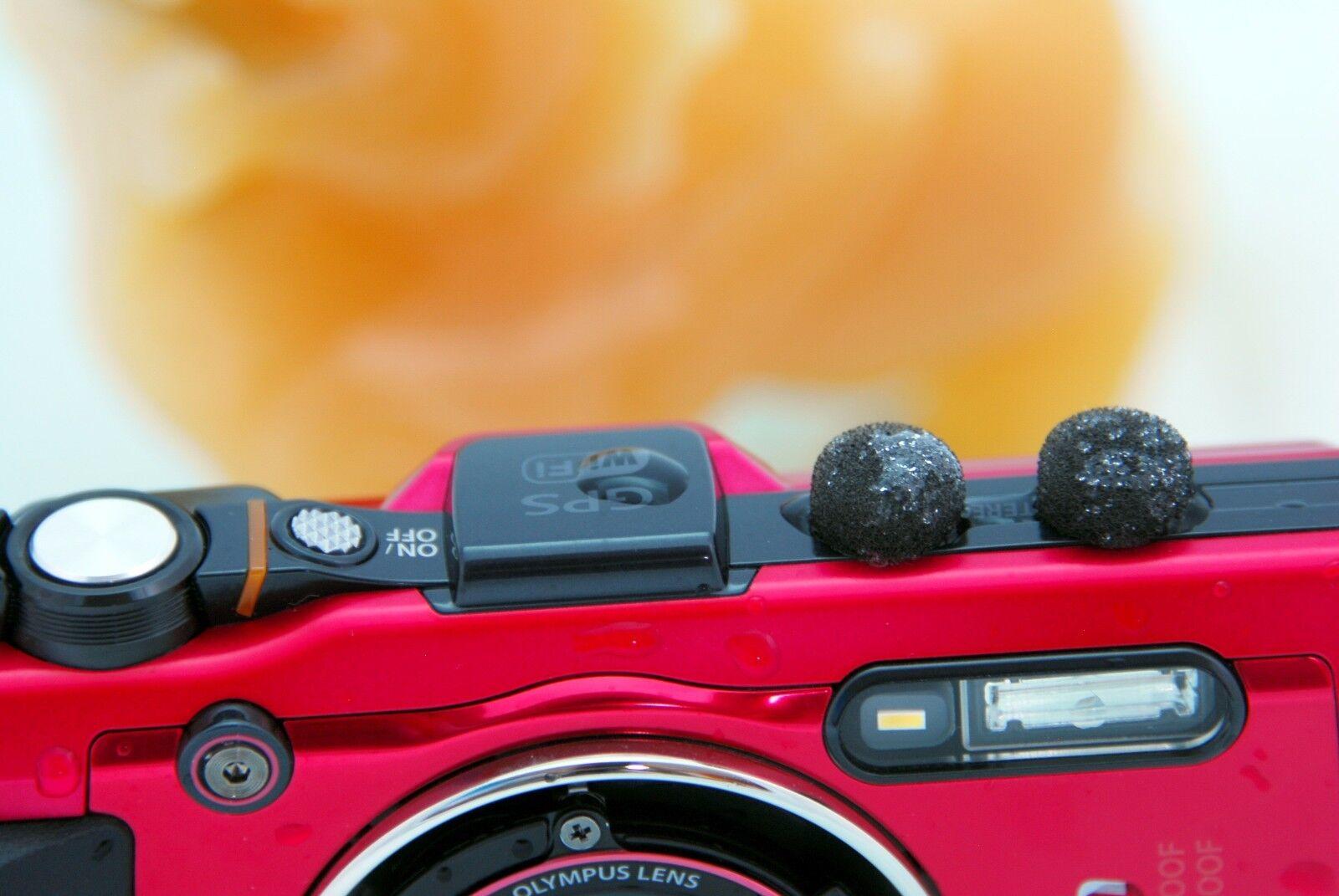 Gomet Mini Wind Filter Sticker + Nano coating Camera Mic Windscreen Muff x 6 Pcs
