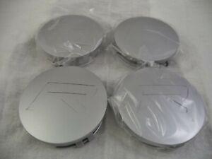 Rovos-Wheels-Silver-Custom-Wheel-Center-Cap-SS-4-CAPS