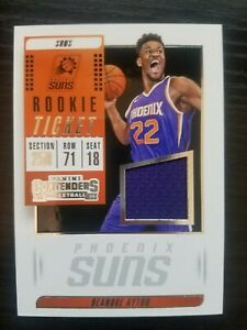 competitive price 1692a cf8c9 Details about 2018-19 Contenders DEANDRE AYTON Rookie Ticket Jersey Relic  Card RC