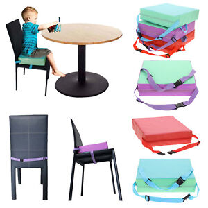 Baby Children Toddler Increased High Chair Seat Pad Safe Booster Dining Cushion
