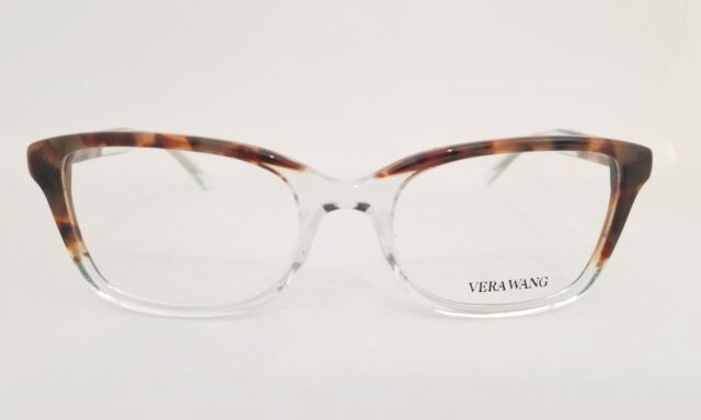 VERA WANG Eyeglasses V388 Tortoise 53MM