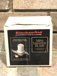 Kitchenaid Food Processor Mini Blade Sabatier Stainless