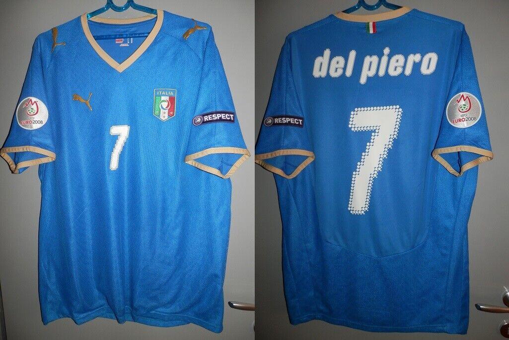 Italia magria Italia del Piero oro 2008 UEFA Jersey Cougar trikot Juventus