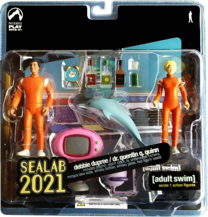 Mint Condition  Series 1 Action Figures by Palisades - Sealab 2021