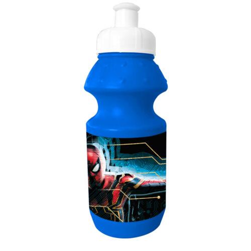 T Enfants Disney//Caractère Plastique Sports Bouteille Iron Spiderman