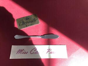 Butterstreicher 18,5 CM Christofle Frankreich Spatours Sehr Bel Zustand Metall