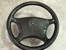 Mercedes W220 S320 CDI '02 (1998-2005) STEERING WHEEL WITH AIRBAG in black