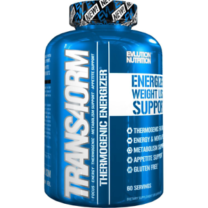 Evlution Nutrition Weight Loss Trans4orm Thermogenic Energizer 60 Serving