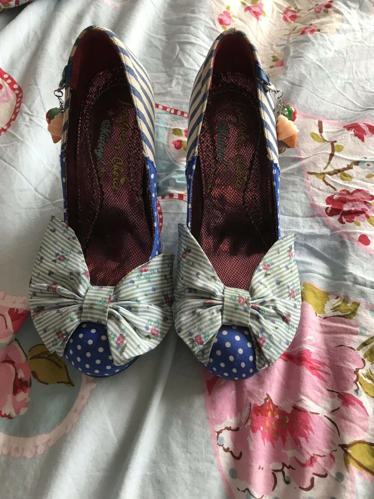 Irregular Choice Trinkle Tina bluee Size 5