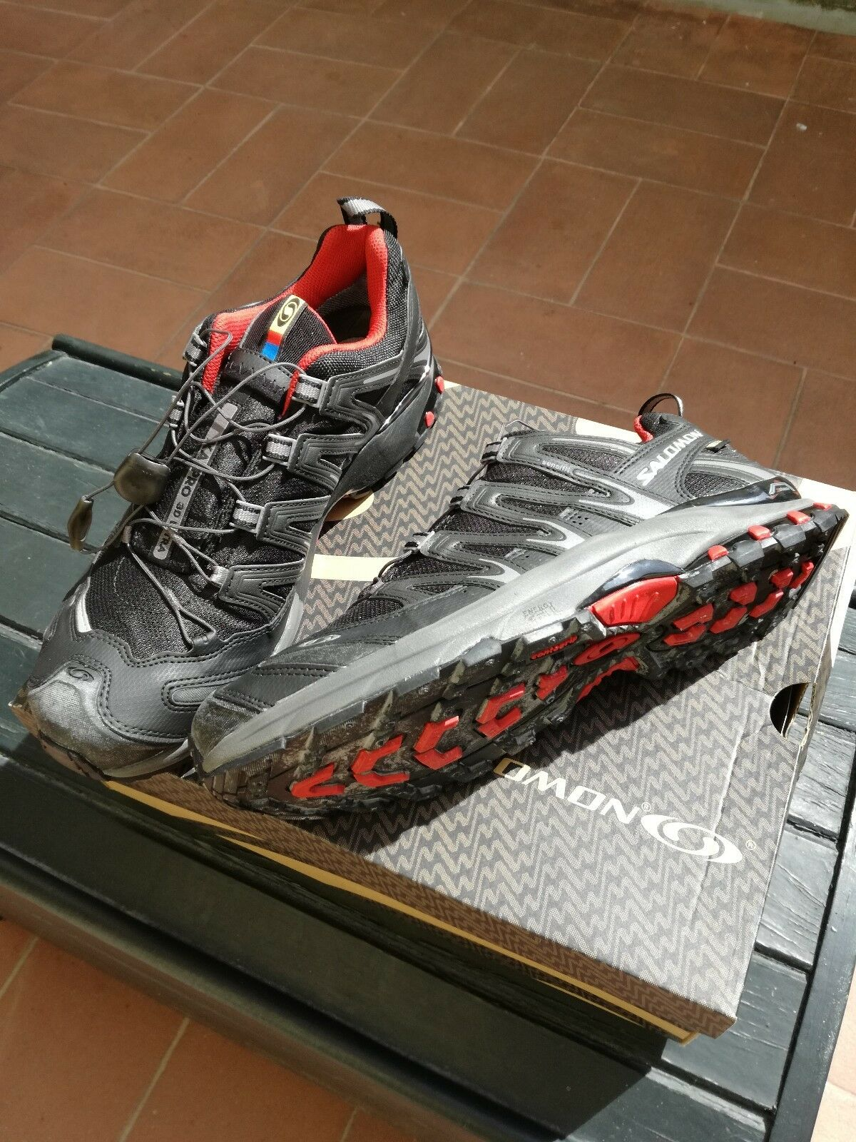 shoes SALOMON RUNNING men women XA PRO 3D ULTRA GTX GORETEX TAGLIA NUMERO 42