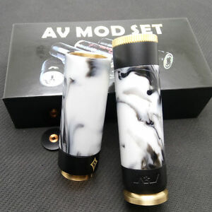 AV Able Stacked Dual 18650 Mod Kit-resin free shipping