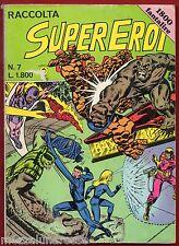 SUPEREROI GIGANTE RACCOLTA n. 7 - Editoriale CORNO (settembre 1983) [SC.4]