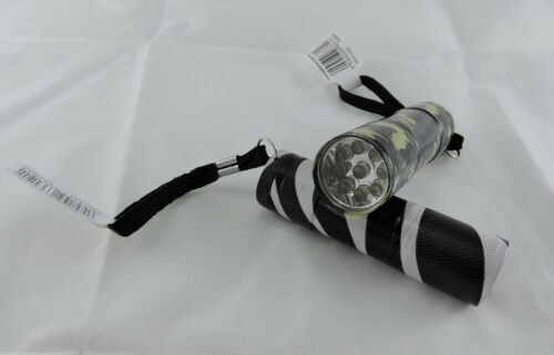 GEOCACHE MINI CAMO TORCH A MUST HAVE PIECE OF GEOCACHING KIT WITH BATTERIES