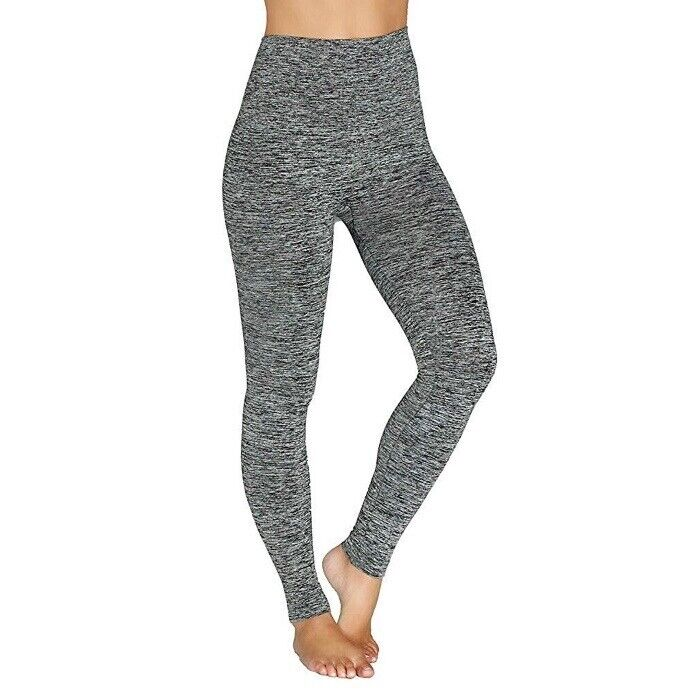 Women's Gray & Black 'Assets by Spanx' High-Waisted Leggings