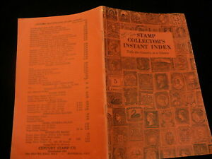 Stamp-collector-instant-index-1932-Century-pamphlet-CCS-Publishing-P648