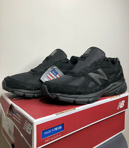 New Balance 990v4 Made In US (M990BB4 Black) - Size 10.5
